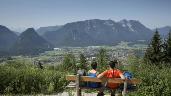 Inzell Karte.Chiemgau Karte Ruhpolding Inzell Urlaub In Inzell